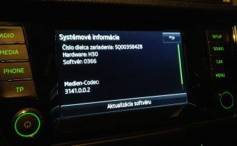 Bolero aktualizácia 366 – oprava Škoda Surround