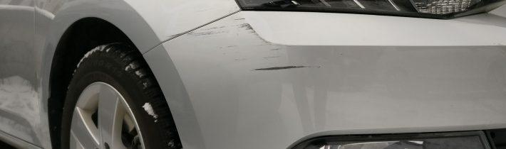 Pokrstene auto