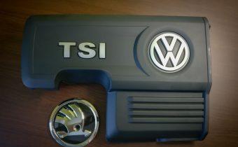 Kryt motora TSI