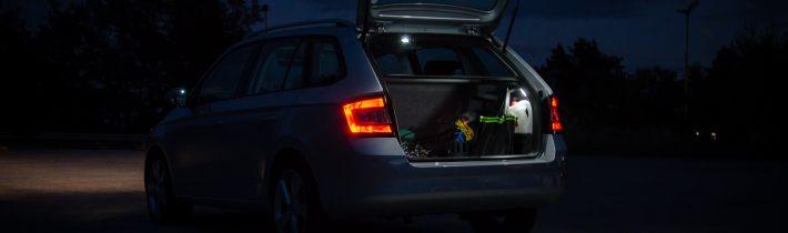 Osvetlenie veka batožinového priestoru