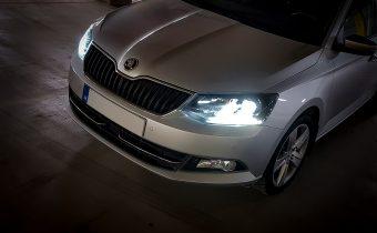Výmena predných halogénových žiaroviek za LED